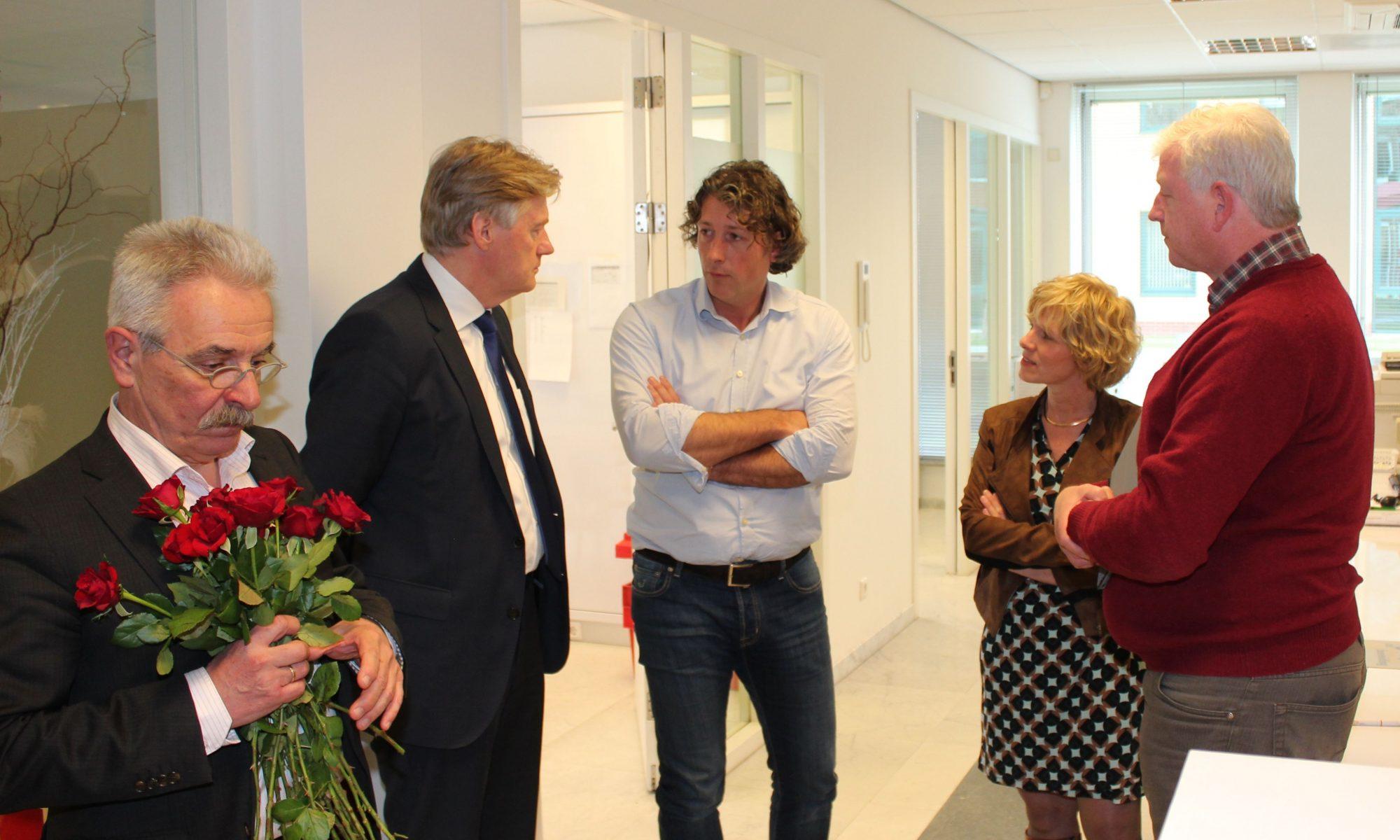 Martin van Rijn bezoekt de apotheek
